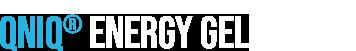 Schriftzug QNIQ® Energy Gel