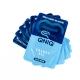 Stapel mit QNIQ® Energy Gel Sachets