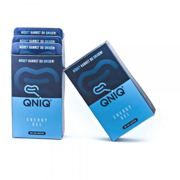 Zwei 6er Packungen QNIQ® Energy Gel